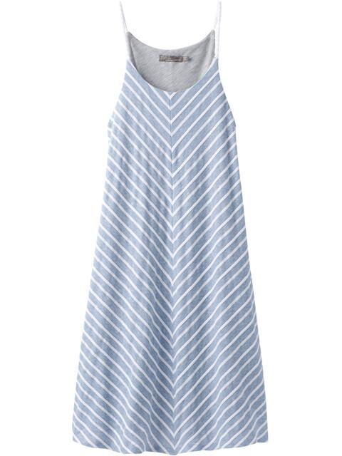 Prana W's Seacoast Dress Sunbleached Blue